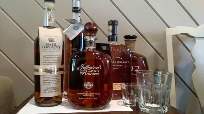 De 5 soorten bourbon die we geproefd hebben