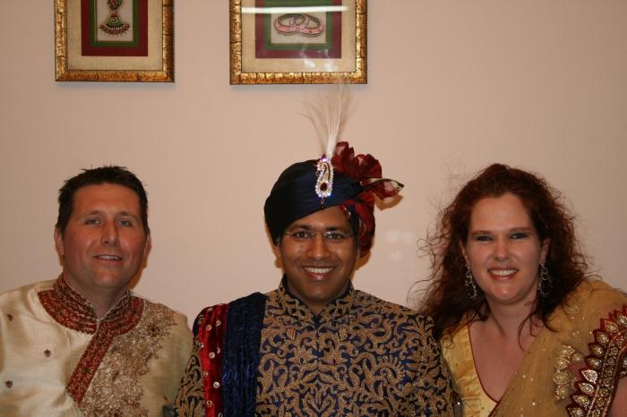 Met Pranav op de foto, nu het nog kan...