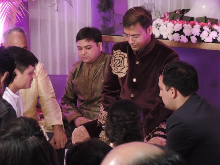 Tilak ceremonie