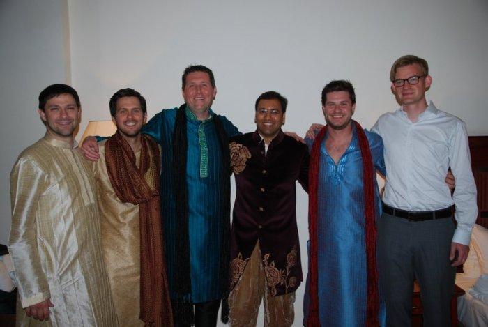De jongens met Pranav