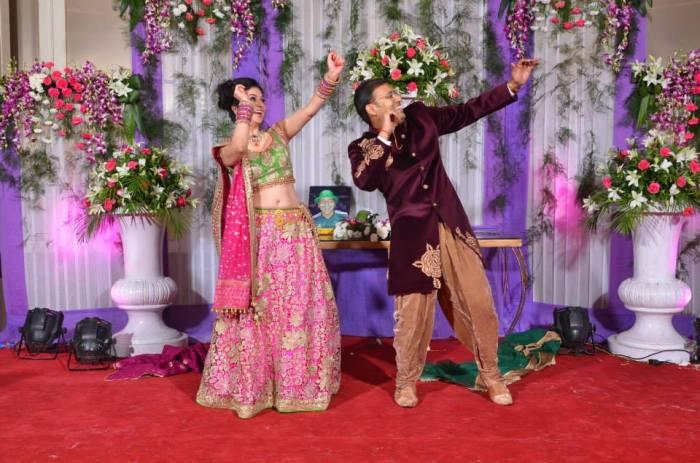 De dans van Pranav en Priya