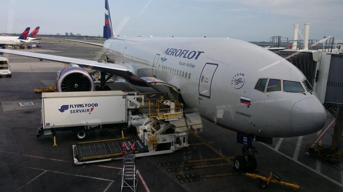 Want jawel, ik vloog met Aeroflot!