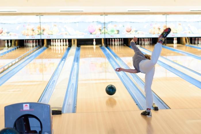 Turnen op de bowlingbaan!