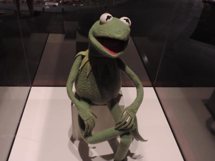 ... en de originele Kermit de Kikker!