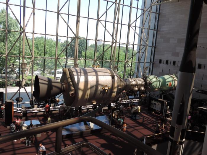 De Sojoez raket (model)