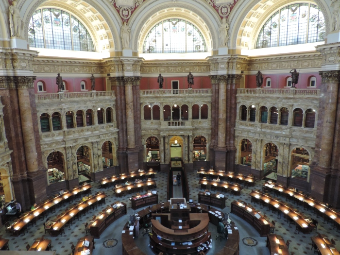 Studiezaal in de Library of Congress