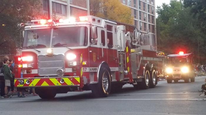 De Alpha Fire Company rijdt ook mee