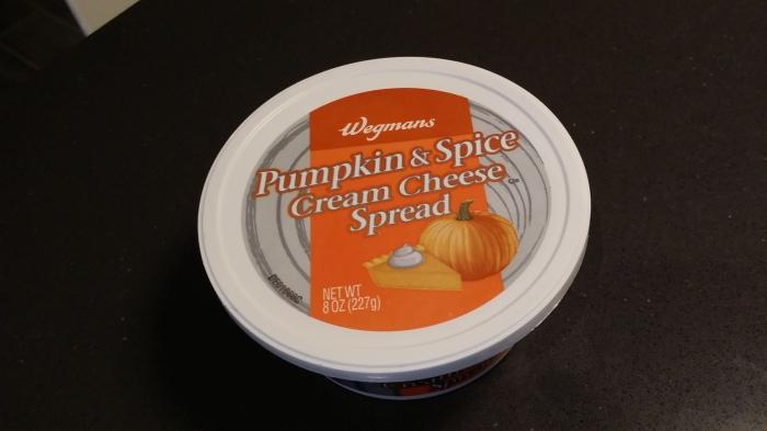 Pumpkin kaas-spread voor op brood