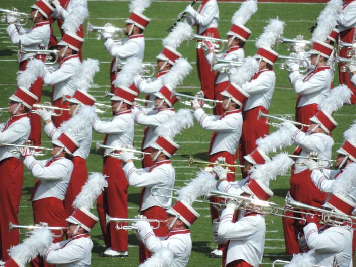 De 'Pride of Oklahoma' Marching Band