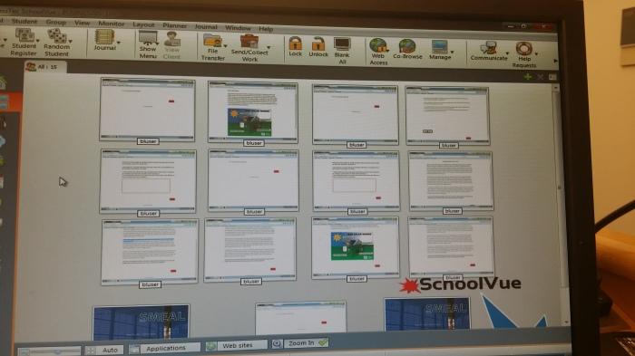 Meekijken met 12 schermen tegelijk!