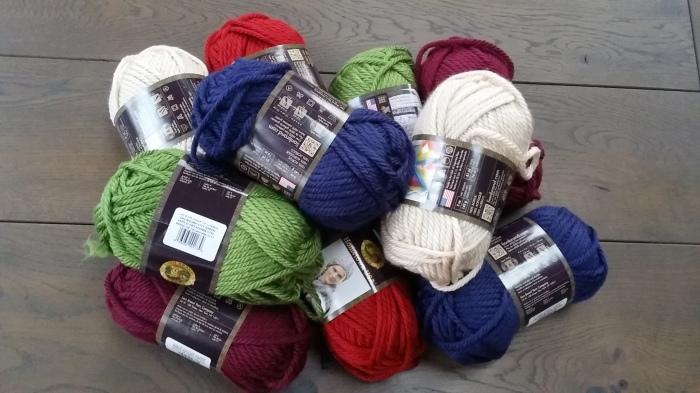 Nieuwe voorraad wol