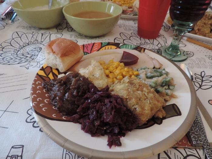 Bord vol heerlijk eten!