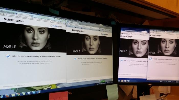 Kaarten voor Adele - in de wachtrij!