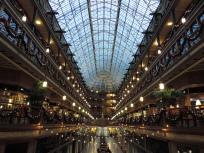 De hal van het mystery hotel in Cleveland - een zeer indrukwekkende arcade!