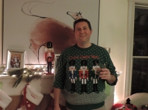 Michiel met z'n Ugly Christmas Sweater