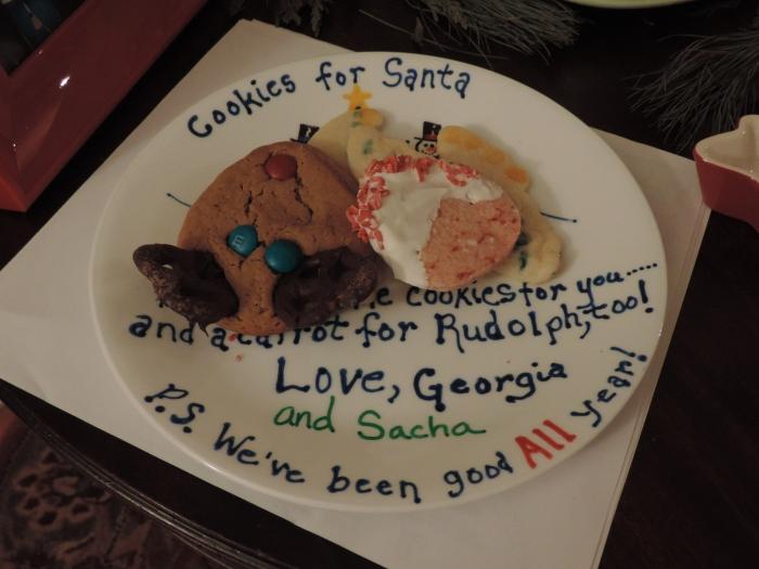 Cookies voor Santa - zelfgebakken, uiteraard!