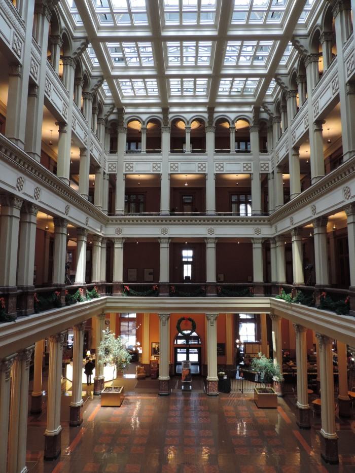 Het zeer indrukwekkende Landmark Center in St. Paul
