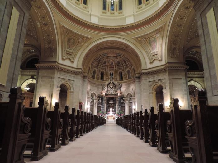 St. Paul's Cathedral - binnenkant