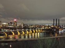 Stone Bridge vanaf the Guthrie