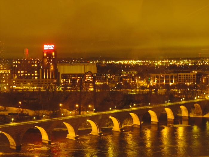 En nog een keer the Stone Bridge... mooi plaatje