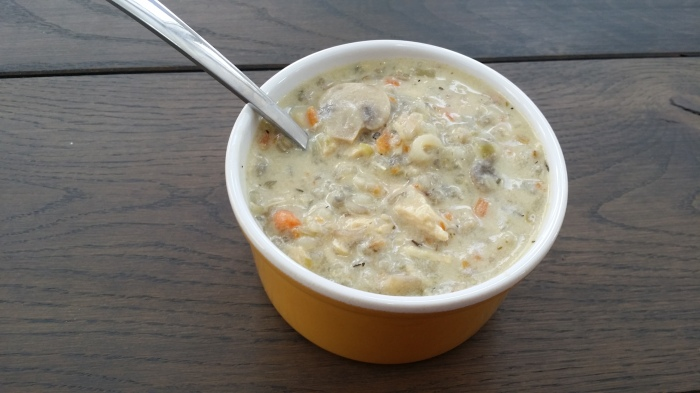 Minnesota Chicken Wild Rice Soup!