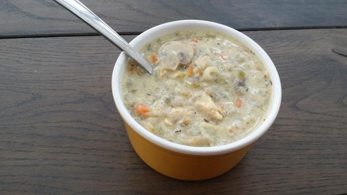Minnesota Chicken Wild Rice Soup!