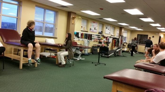 De fysiotherapie - grote ruimte