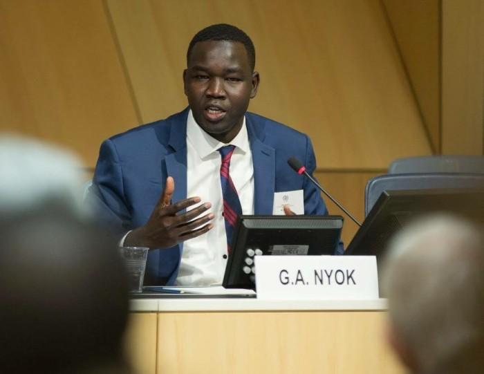 Gai Nyok nu als diplomaat