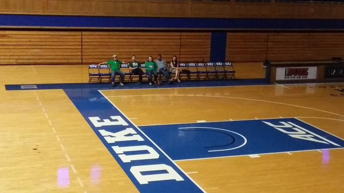 Basketbal op Duke