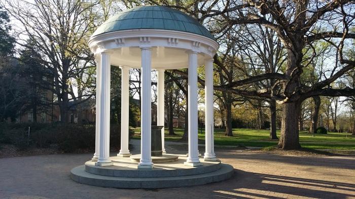 De waterput bij Chapel Hill - daar moet je geweest zijn als je naar UNC gaat