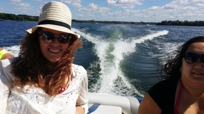 Met de speedboot naar Big Island