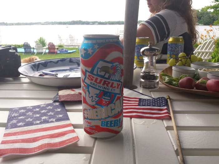 4th of July Surly biertje!
