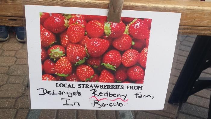 En aardbeien van DeLange's Redberry Farm uit Borculo!