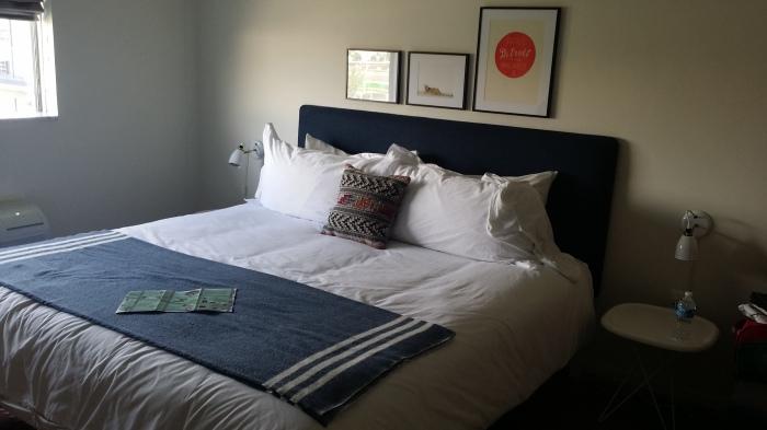 Ons bed - geweldig!