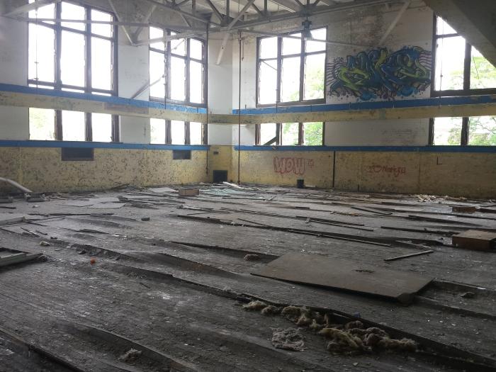 De gymzaal: de vloer komt omhoog