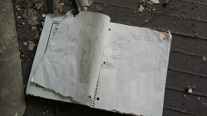 Oud huiswerk uit 1994