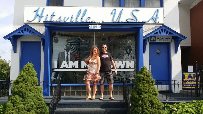 Bij het Motown Museum