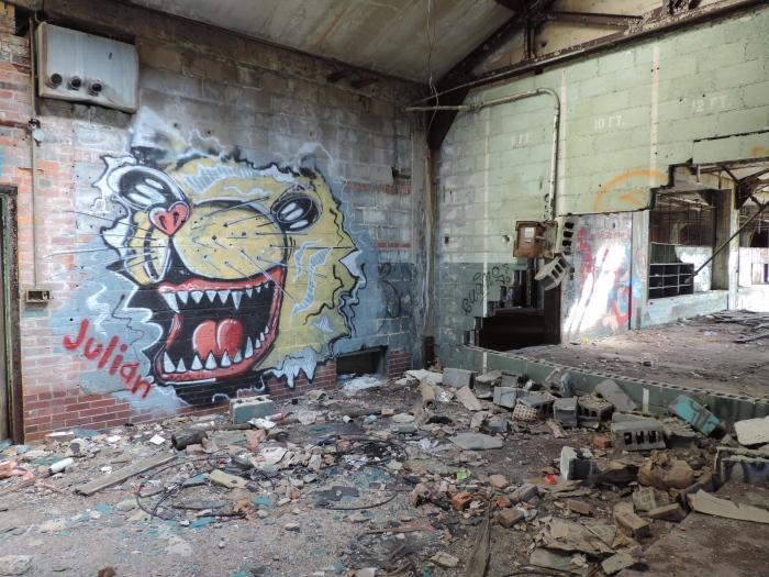 Weer een mooie graffito
