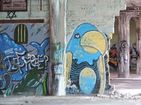 Nog een mooie graffito