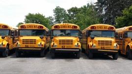 Amerikaanse schoolbussen