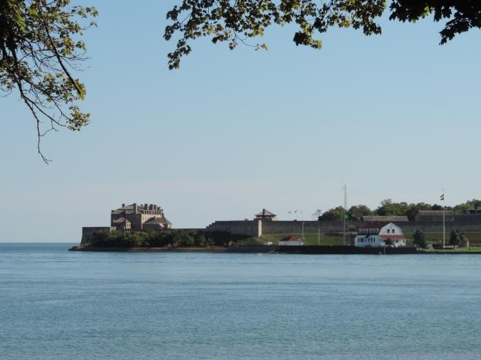 Old Fort Niagara (USA) vanuit Niagara on the Lake (Canada) gezien