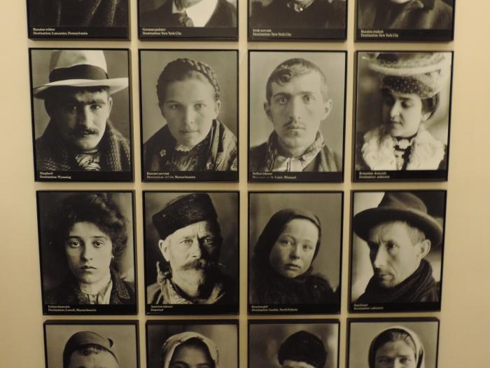 Immigranten van Ellis Island