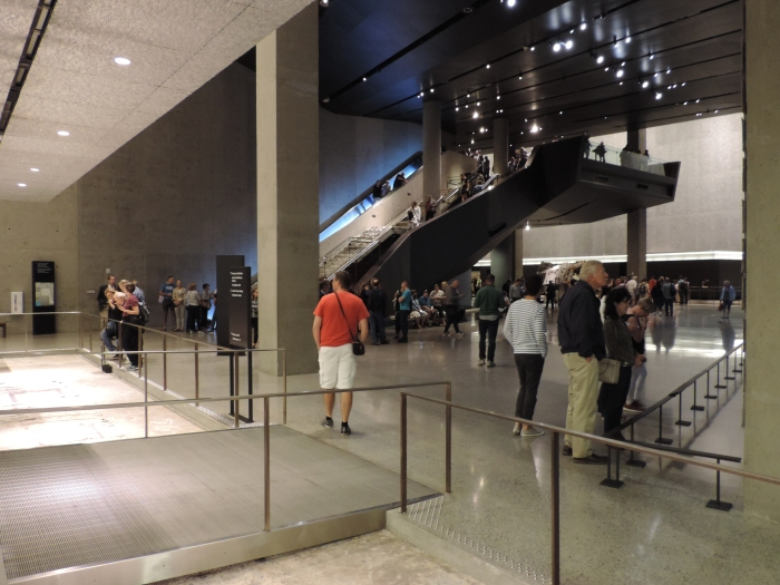In het 9-11 Museum