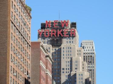 Een landmark: het kantoor van de New Yorker