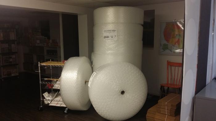 Heel Veel Bubbeltjesplastic!