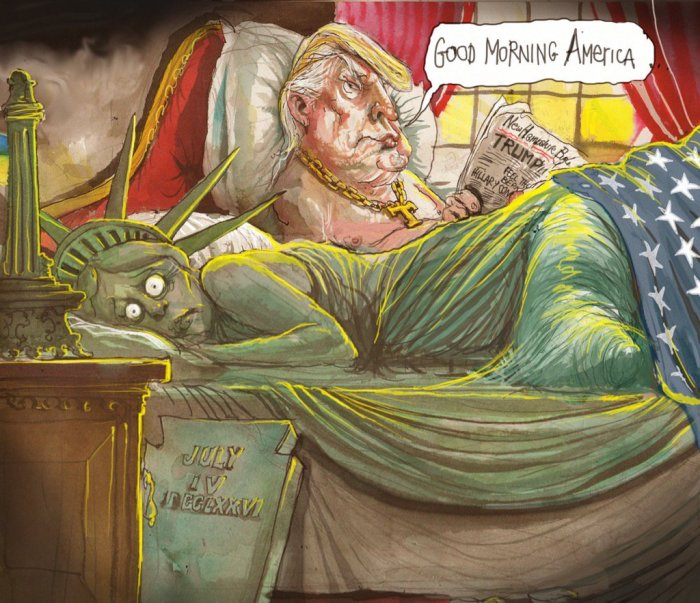 """Good morning America"" door David Rowe"